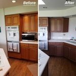 Before After Cabinet