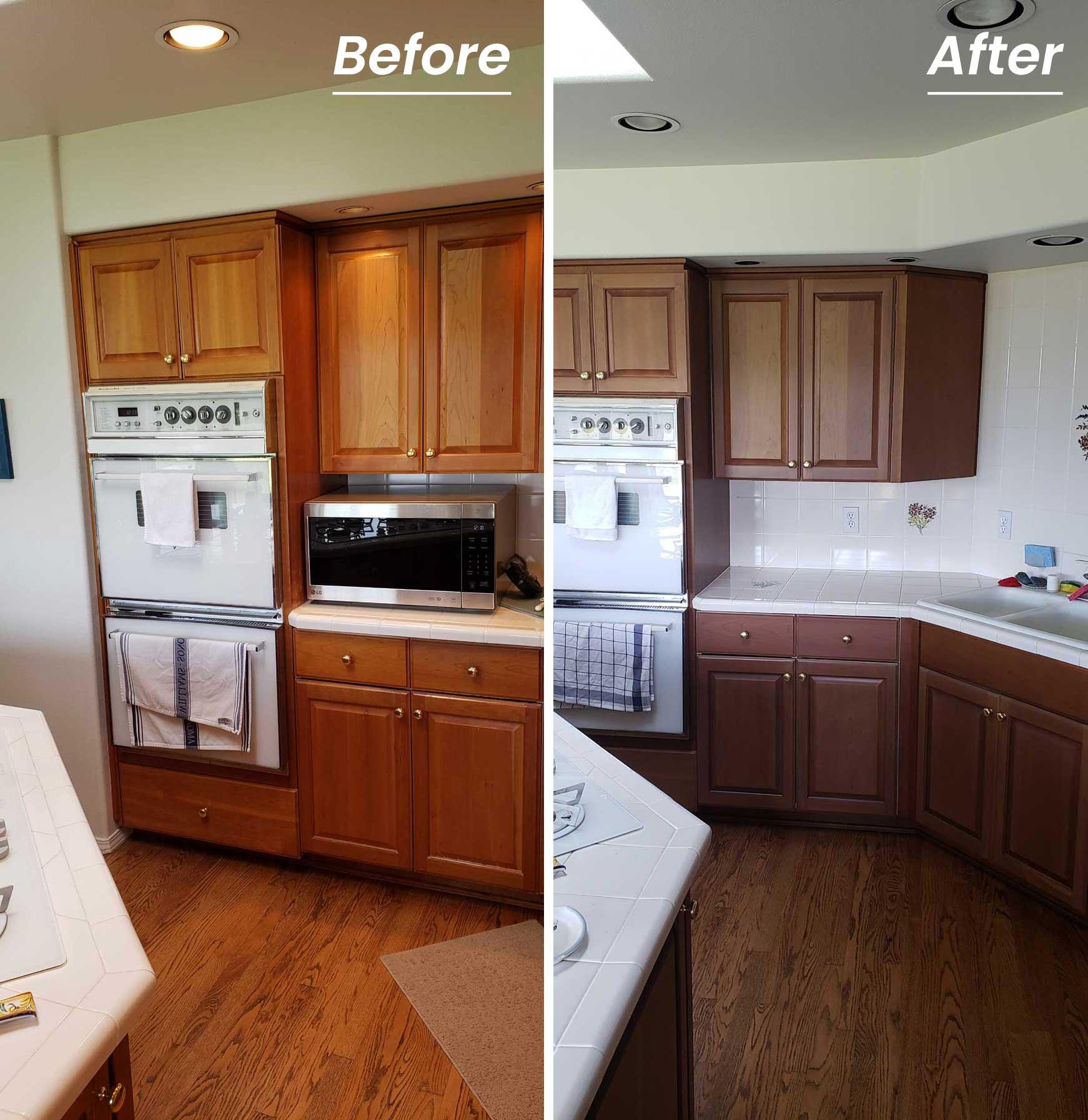 Vancouver Wa Kitchen Bathroom Cabinet Refinishing
