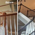 Before After Staircase Billboard